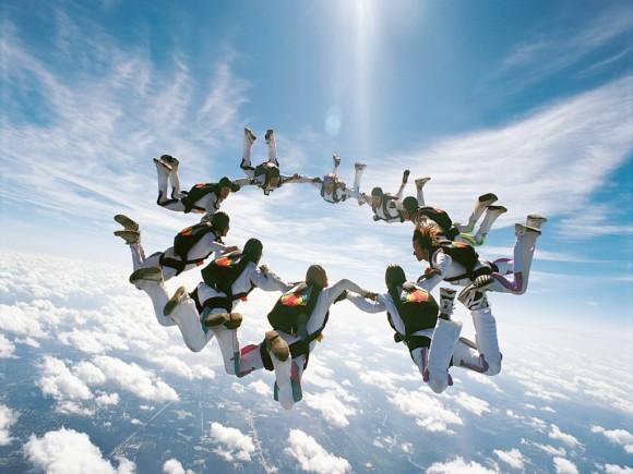 paraquedistas