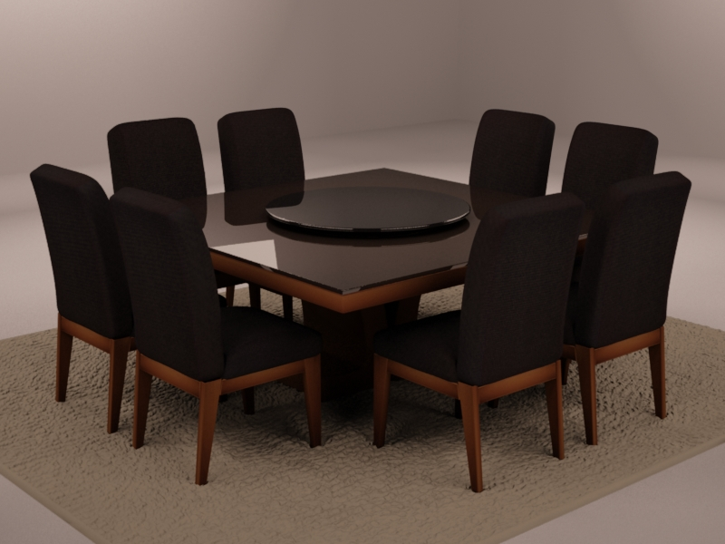 Casa decora o mesas de jantar for Modelos de mesas cuadradas