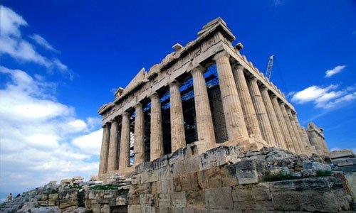 Imagem partenon for Arquitectura de grecia