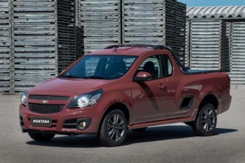 Chevrolet Montana fica mais completa na linha 2018