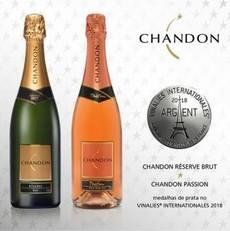 Chandon é premiada no concurso Vinalies Internationales